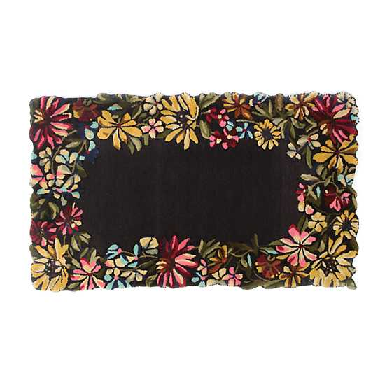 Butterfly Garden Rug - 3' x 5' image one
