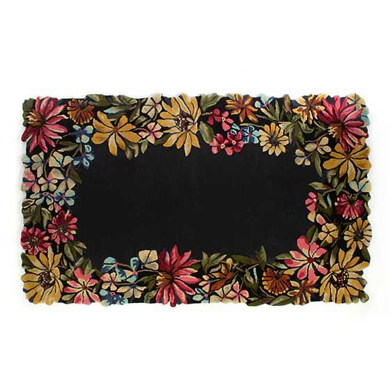 Butterfly Garden Rug - 5' x 8' image one