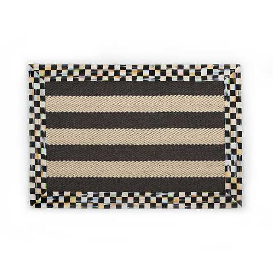 Stripe Wool/Sisal Rug - 2' x 3' image one