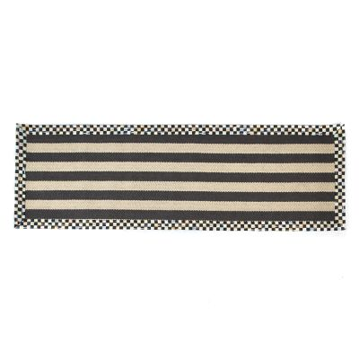 "Stripe Wool/Sisal Rug - 2'6"" x 8' Runner"