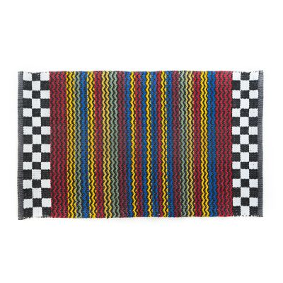 Kasbah Stripe Indoor/Outdoor Rug - 2' x 3'4""
