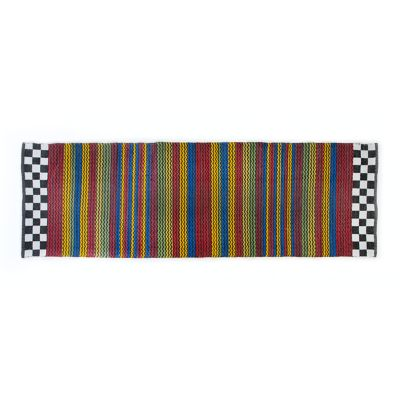 "Kasbah Stripe Indoor/Outdoor Rug - 2'6"" x 8'"
