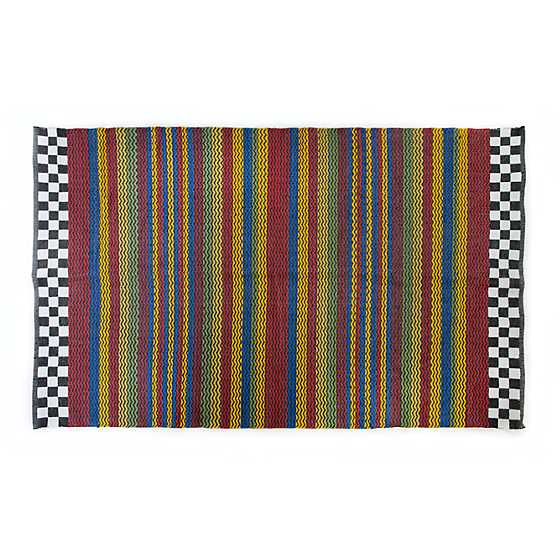 Kasbah Stripe Indoor/Outdoor Rug - 5' x 8' image one