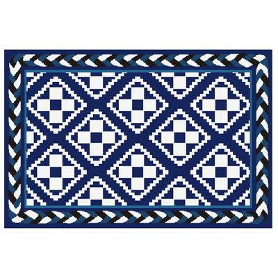 Courtyard Indoor/Outdoor Rug - 2' x 3' - Royal