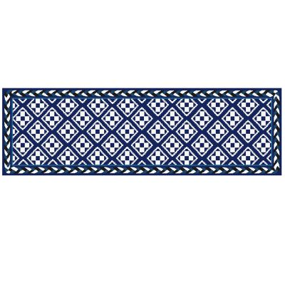Image for Courtyard Indoor/Outdoor Rug - 2'6 x 8' Runner - Royal