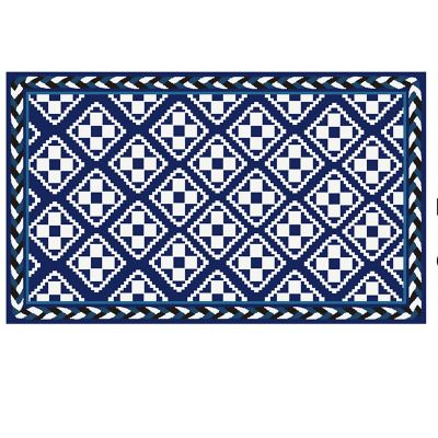 Image for Courtyard Indoor/Outdoor Rug - 3' x 5' - Royal