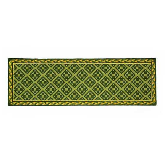 "Courtyard Zanzibar Indoor/Outdoor Rug - 2'6"" x 8' Runner image two"
