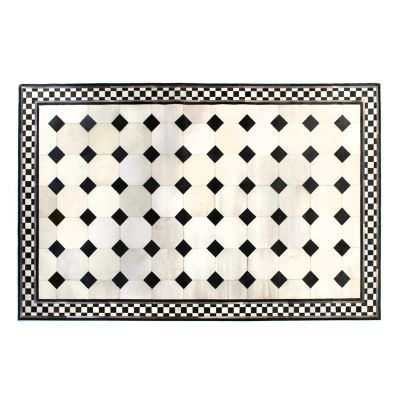 Westminster Hair on Hide Rug - 5' x 8' - White