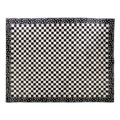 Mod Rocker Hair on Hide Rug - 8' x 10'