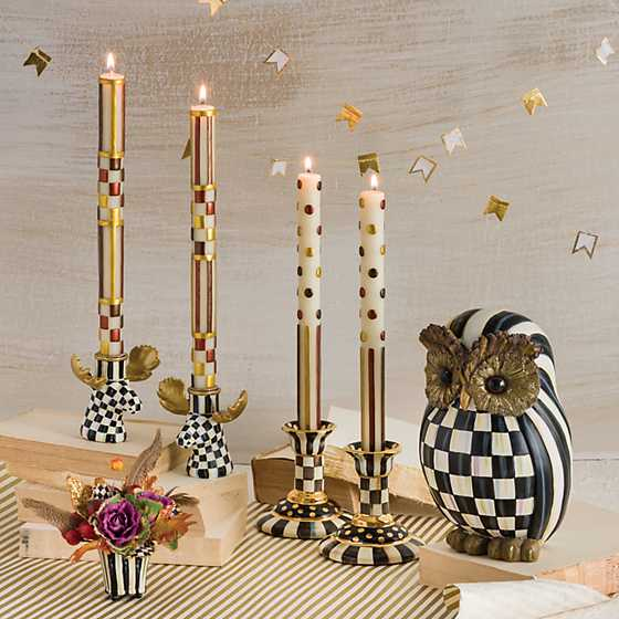 Courtly Check Moose Candlesticks - Set of 2 image nine