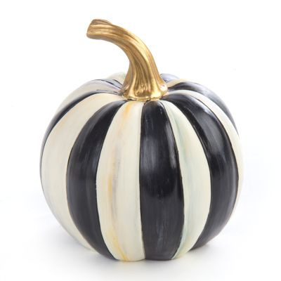 Courtly Stripe Pumpkin - Mini