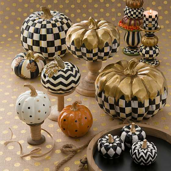 Capiz Pumpkins - Set of 3 image three