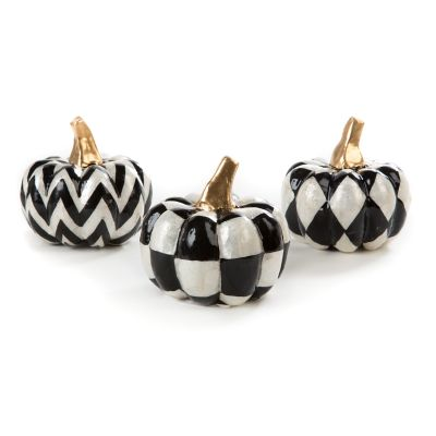 Capiz Pumpkins - Set of 3