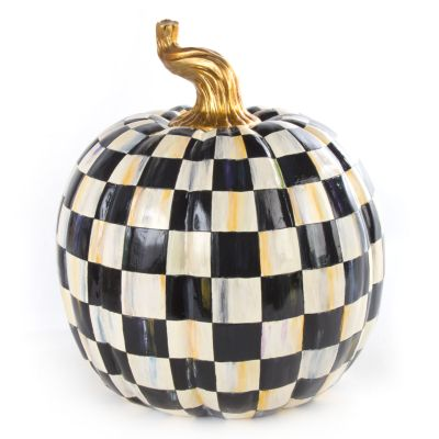 Courtly Check Pumpkin - Large
