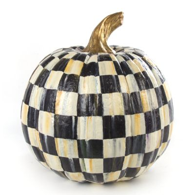 Courtly Check Pumpkin - Medium