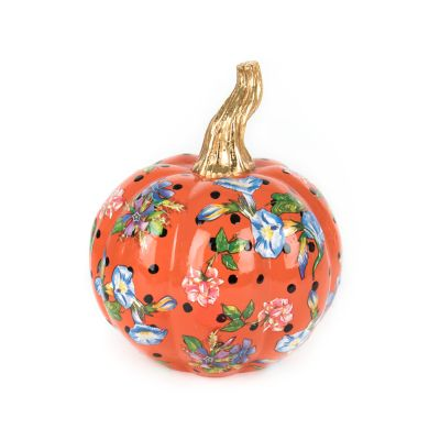 Flower Market Pumpkin - Mini - Orange