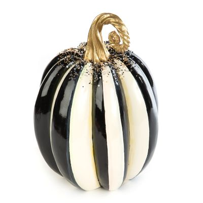 Beaded Stripe Pumpkin - Medium
