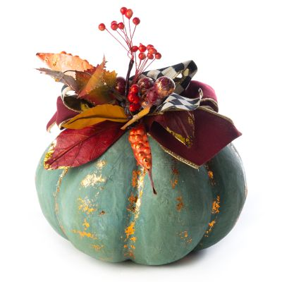 Verdigris Pumpkin - Small