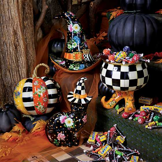 Flower Market Patchwork Pumpkin - Medium image two