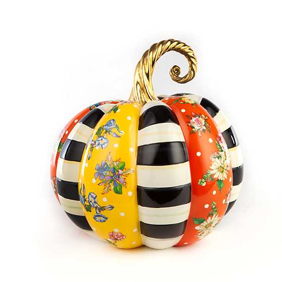 Flower Market Patchwork Pumpkin - Medium