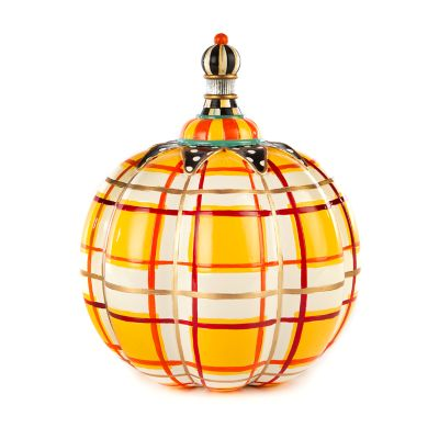 Tartan Spice Pumpkin - Butterscotch Plaid