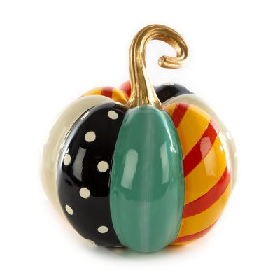 Patchwork Spice Pumpkin - Medium