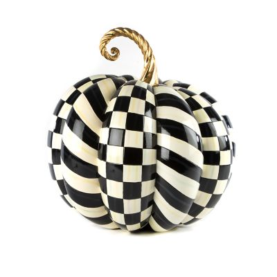 Courtly Check Gold Medal Pumpkin