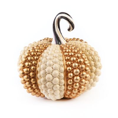 Autumn Harvest Pumpkin - Ivory Jewel