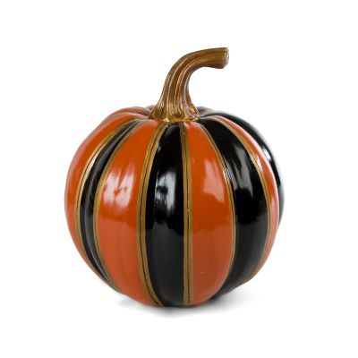 Orange Stripe Pumpkin - Small