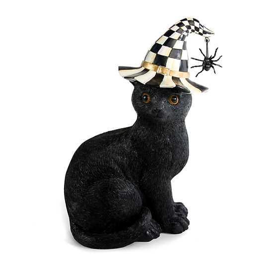 Mackenzie Childs Black Cat