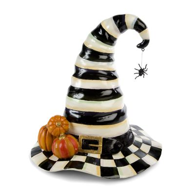 Courtly Stripe Witch's Hat