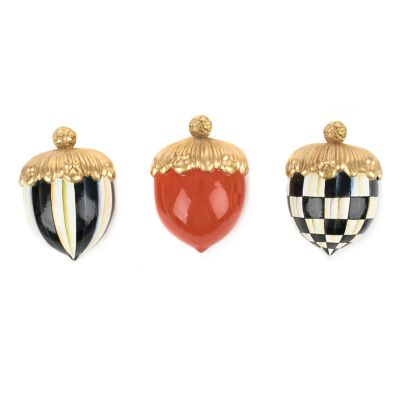 Courtly Acorns - Set of 3