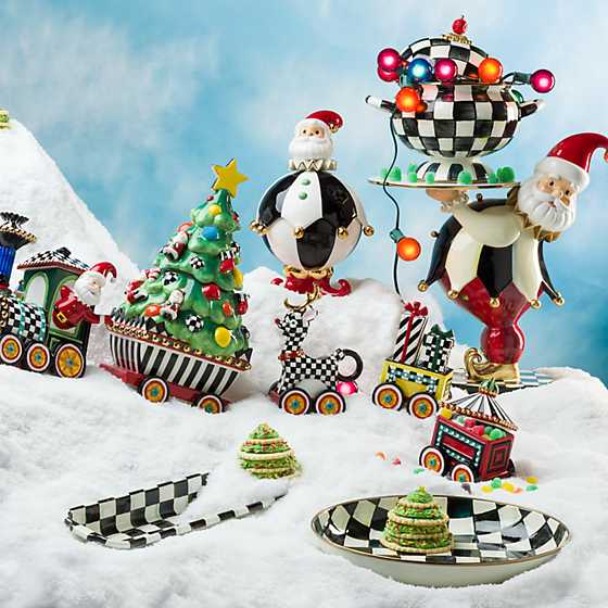 Christmas Train - 4-Piece Ceramic Set image two