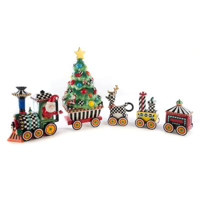 Christmas Train - 5-Piece Ceramic Set