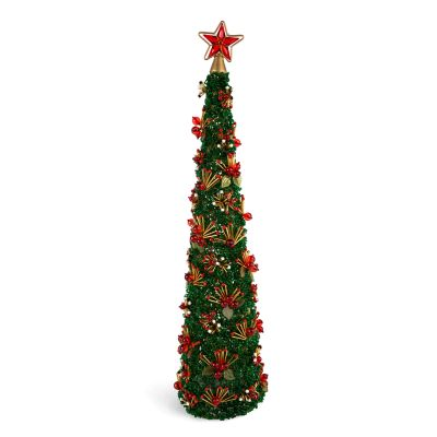 Savoy Holiday Beaded Tree - 24""