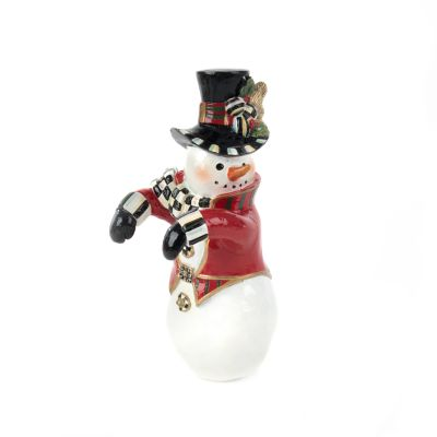 Top Hat Snowman Pot Climber
