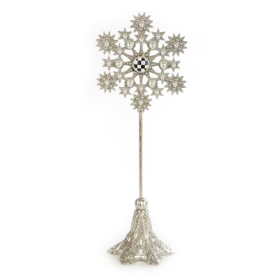 Snowflake Pedestal - Medium