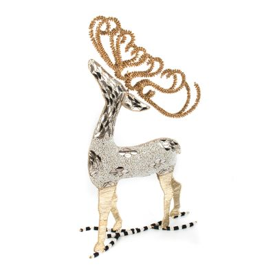 Snowfall Beaded Deer
