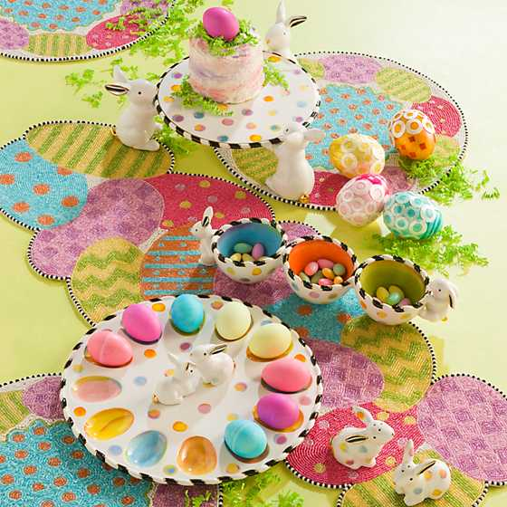 Dotty Egg Plate image two