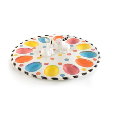 Dotty Egg Plate