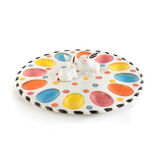 Dotty Egg Plate image one