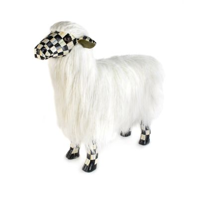 Image for Courtly Check White Sheep - Large