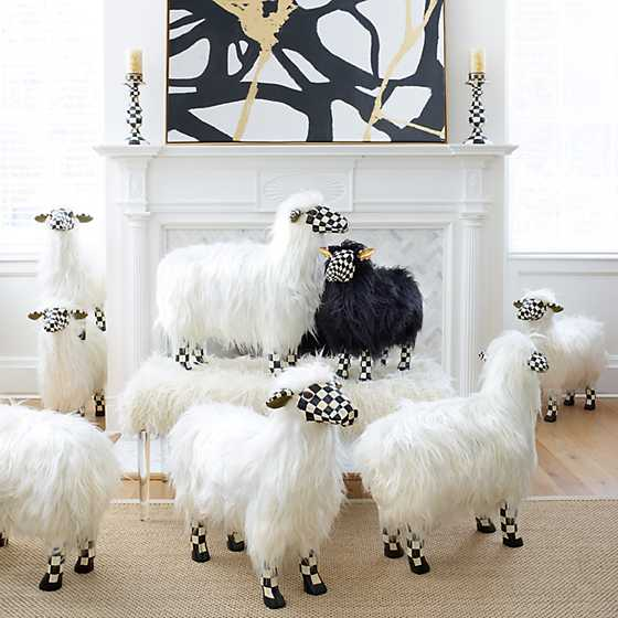 Courtly Check Black Sheep - Small image two