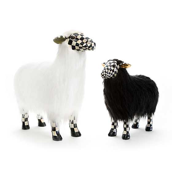 Courtly Check Black Sheep - Small image three