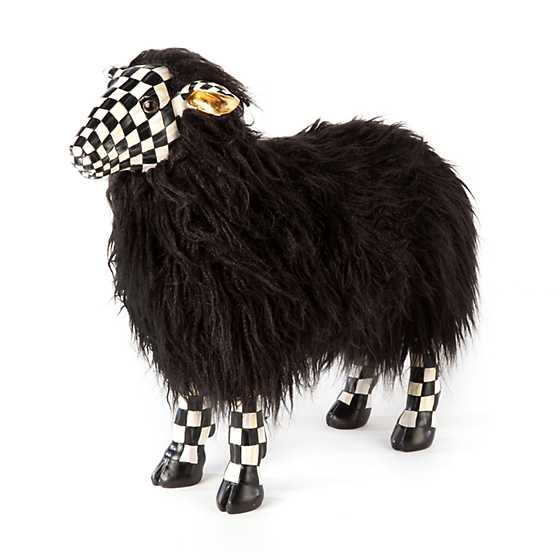 Courtly Check Black Sheep - Small