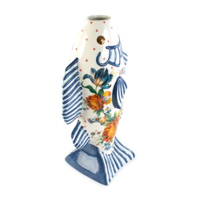 Flower Market Fish Vase - Tall