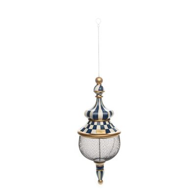 Image for Royal Check Pendant Bird Feeder