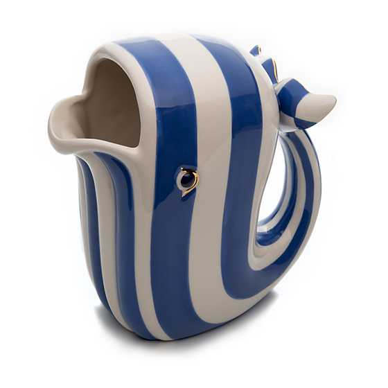 Big Blue Pitcher