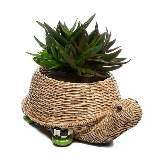 Turtle Planter - Large image three