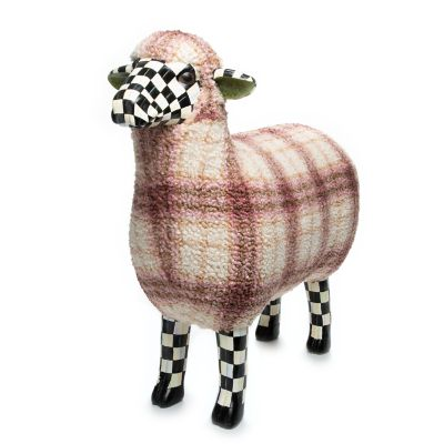 Tartan Sheep - Purple